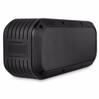 Divoom Voombox outdoor water resistant bluetooth speakers Output in 15W and 12 hours playback (black)