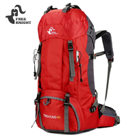 FREEKNIGHT Camping Sports Backpack Men Women Climbing Travelling Outdoor Sport Backpacks Large Capacity Bags With Rain