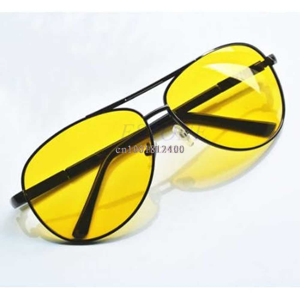 1pc Night Vision Glasses Polarized UV400 Anti-Glare Sunglass Driving Glasses