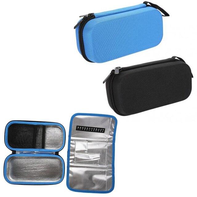 Eva Insulin Pen Case Cooling Storage Protector Bag Medical Cooler Travel Pocket Packs Pouch Freezer
