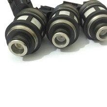 Conjuntos de 6 japonês JS23 1 alta qualidade injector de combustível 16600 38y10 16600 38y11 spray bico fluxo combinado para nissan patrol