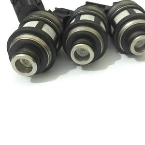 Image 1 - Conjuntos de 6 japonês JS23 1 alta qualidade injector de combustível 16600 38y10 16600 38y11 spray bico fluxo combinado para nissan patrol