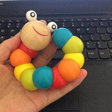 Baby Toys Wood Rattles Kids Toys Early Education Toys for Infant Boys Girls Leaning Color Number Gift for Newborn 6-24 Months