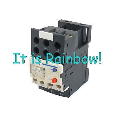 US $12.55 5% OFF|3P Motor Thermal Overload Relay w LAD7B106 Block Base on