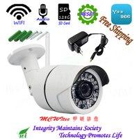 WItec Water proof Audio Camera Reset WIFI IPC 1080P Security Camera ONVIF P2P IP Cam IR CCTV 128G SD Card Cam Outdoor Alarm
