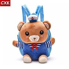 6414d05cb46d Cute Bag Baby Plush Backpack Cute Cartoon Pink Teddy Bear Bag Soft Toy  Children s School Bag · 3 Colors Available