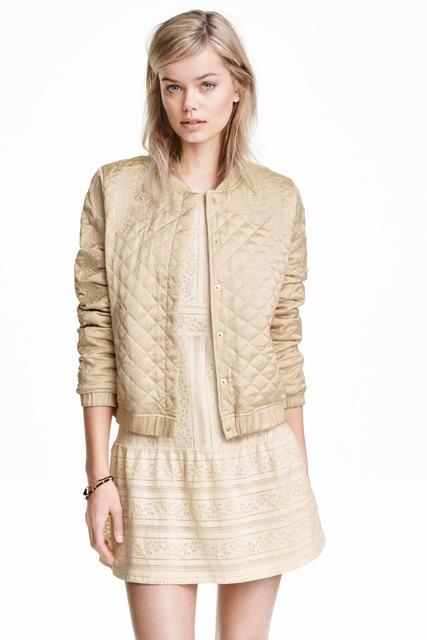2017 Bege Bordado Patchwork Lace Vogue Casaco Losango Padrões Femme 4 Cores Casacos Curtos Mulheres Top Exteriores C128