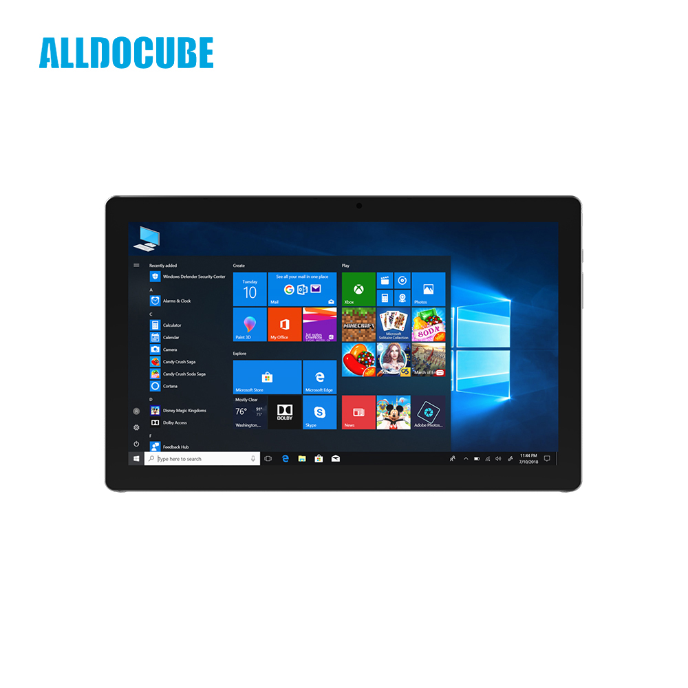 ALLDOCUBE KNote5 windows10 Tablet PC 11.6 inch FHD 1920*1080 IPS Intel Gemini Lake N4100 Quad Core 4GB RAM 128GB ROM Dual WiFi
