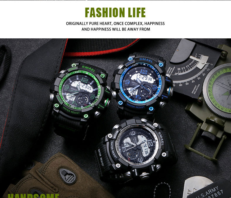 10 sport watch green
