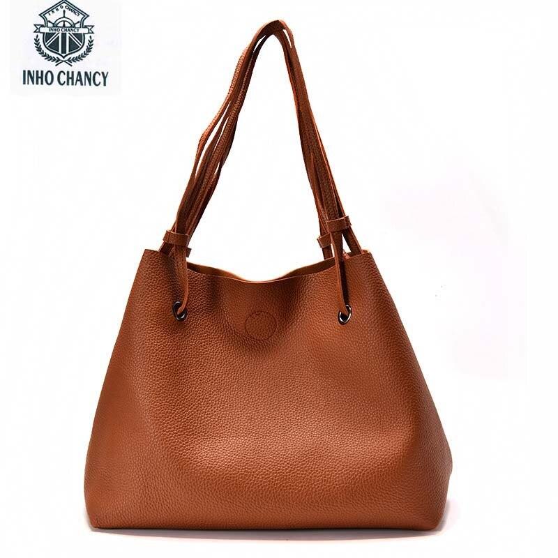 Inho рискованным искусственная кожа рук сумка женская темперамент дикий новый большой мешок 2017 дизайнерские женские сумки