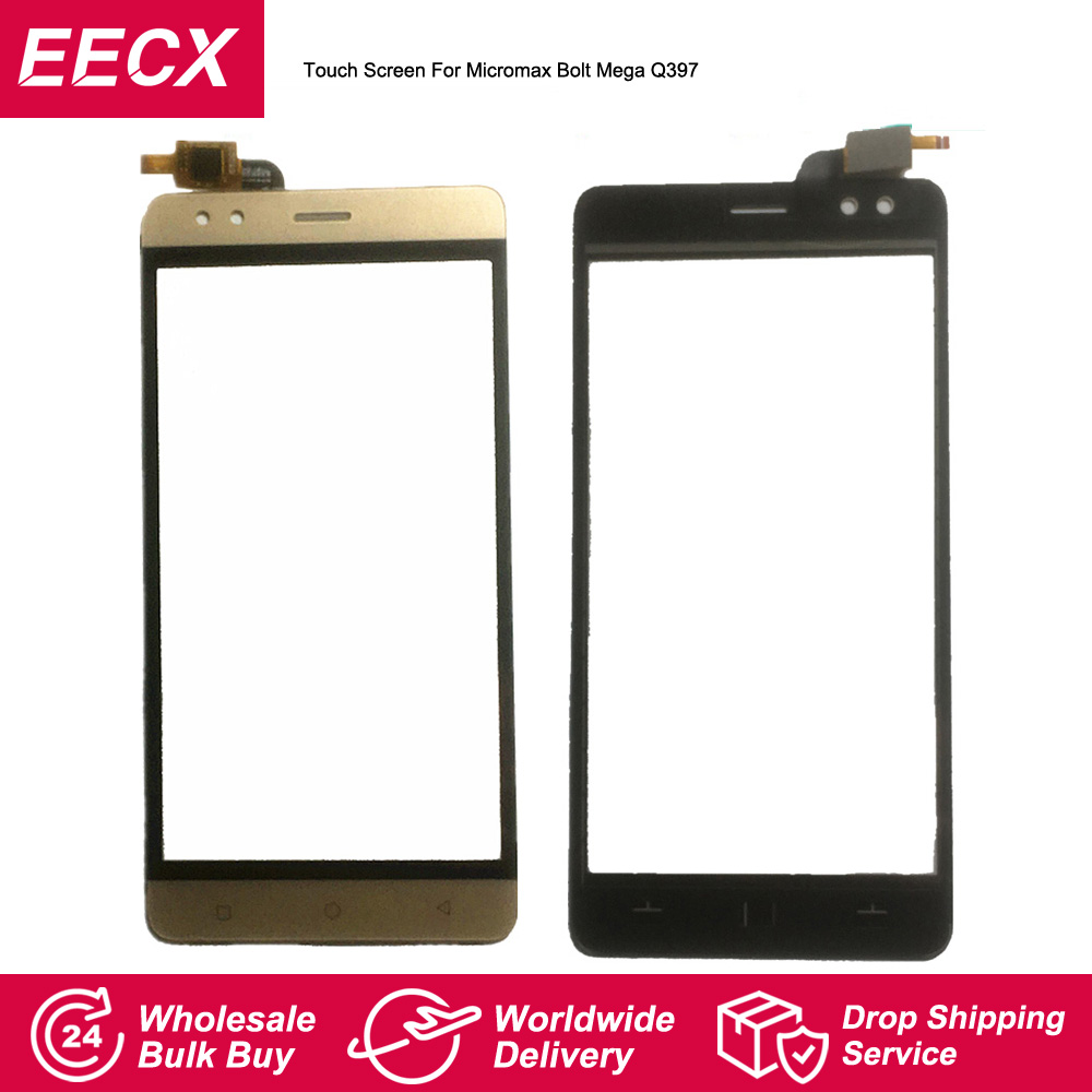 Touch Pannel For Micromax Bolt Mega Q397 Touch Screen Sensor Digitizer Front Glass Lens Touchscreen