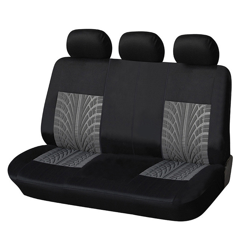 AUTOYOUTH Car Rear Seat Cover Polyester Universal Automobile Back Seat Cover For Seat Protector Auto Decoration Accessories-in Automobiles Seat Covers from Automobiles & Motorcycles