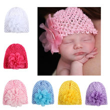 Girls Boys Fashion Toddlers Infant Baby Girl Flower Hollow Out Hat Headwear Kids Hats Floral Caps czapki dla dzieci #30S27 #F(China)