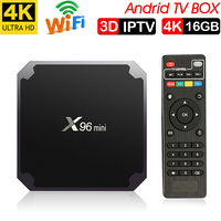 Xinways Amlogic S905W X96 Mini 2G/16G Android 7.1.2 Quad Core Support 4K Android tv box