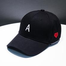 2019 Baseball Cap Men Hip Hop Caps Dad Hat Embroidery Letter A Men Rapper Hats bone gorras Casquette Casual Cotton Unisex