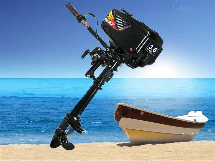 2017 new design best quality 2 stroke 3 6hp hangkai for Best outboard motor 2017