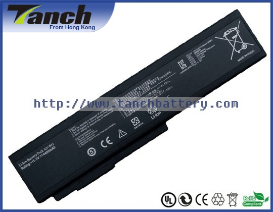 Replacement ASUS laptop batteries for B43J B43E A31 B43 B43S A32 B43 B43V B43 CU024X PRO B43A 11.1V 6 cell