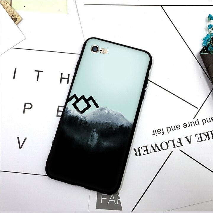 SKEROS twin peaks (3) TPU Phone Case Soft Cover For X 5 5S Se 6 6S 7 8 6 Plus 6S Plus 7 Plus 8 Plus #da443