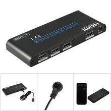 3×1 HDMI 2.0 Switcher 3 Входа 1 Выход HDMI Переключатель Поддержки 3D UHD 4 К 2160 P HDCP 4 К * 2 К