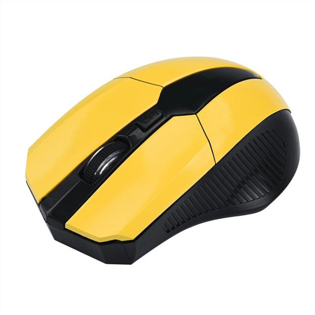 MALLOOM Brand Gaming Mouse 2.4GHz Mice Optical Mouse Cordless USB Receiver PC Computer Mouse Wireless For Laptop Hot Sale #255