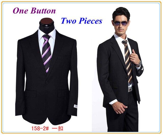 Aliexpress.com : Buy Black Men Slim Fit Dress Suit Hot Selling ...