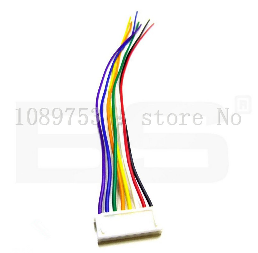 50PCS JST XH 2.54-10 Pin 10CM Battery Connector Plug Male with 100MM Wire 100pcs jst xh 2 54 4 pin battery connector plug male with 100mm wire