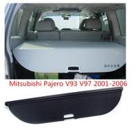 JINGHANG Car Rear Trunk Security Shield Cargo Screen Shield shade Cover Fits For Mitsubishi Pajero V93 V97 2001 2006