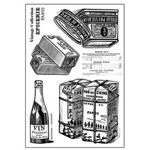 Wine bottles and cans silicone transparent Clear Stamps for scrapbook DIY Photo album Rubber