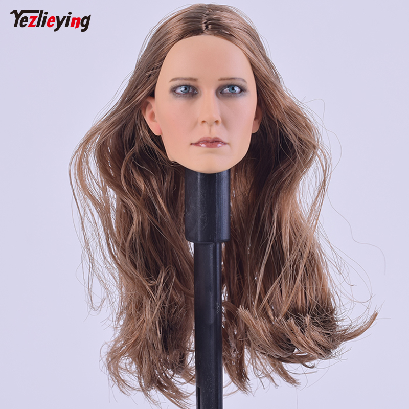 1/6 Scale Female Accessories Head Carving Sculpt Hair KUMIK 15-9 F 12 Inch HT Sideshow Phicen Body Figure hot toys for children