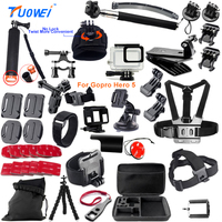 For Gopro Accessories Set Gopro Hero 5 Waterproof Protective Case Chest For Gopro Hero 5