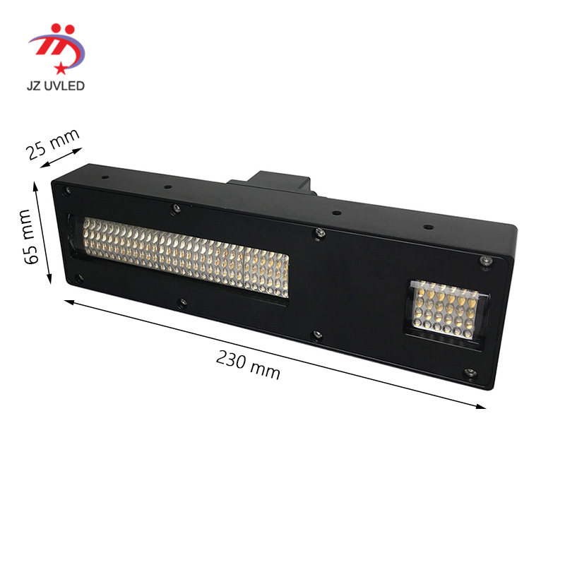 550W High Power UV Gel Curing Light For Large Industrial UV Flatbed Printer Ink Varnish Inkjet Photo Uv Printer Lamps 395nm