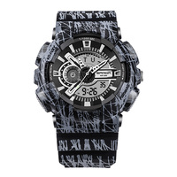 Fashion 2017 Electronic Watch Men Multi Function Digital Watches Student Waterproof Sports Watch Herren Uhren