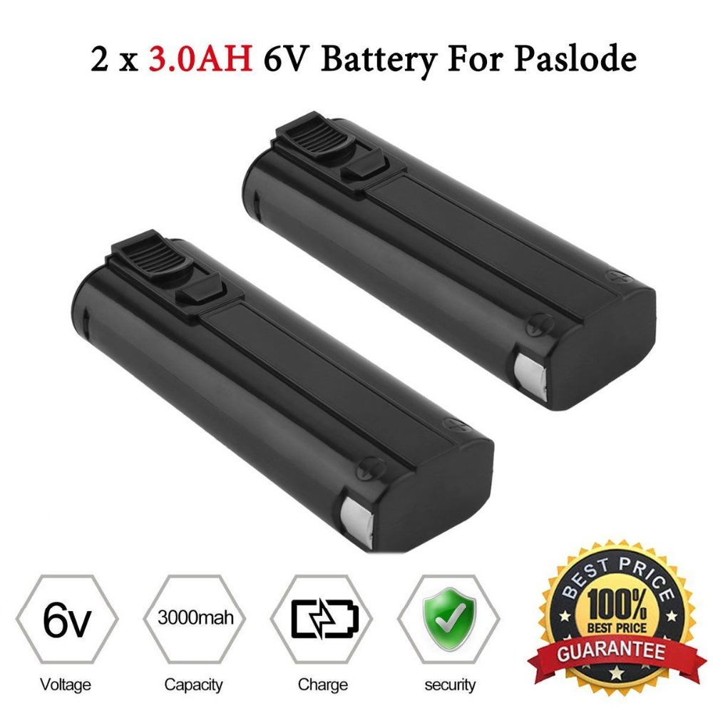 6V 3.0Ah NiCd Battery For PASLODE 404717 900600 900420 900400 902000 Nailer ...