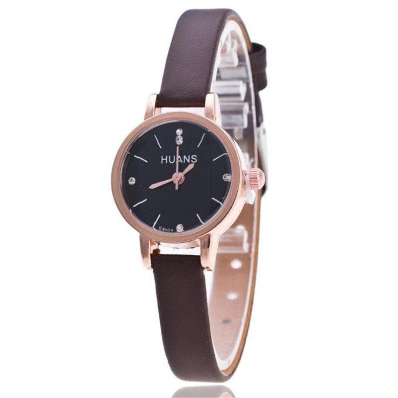 Women's watches Relogio feminino Female Models Fashion Thin Belt Rhinestone Belt Watch Wrist Watch Saat women XL50 sbao women s watches sports series of high end leisure couples 2017 watches simple models relogio feminino saat for women a20