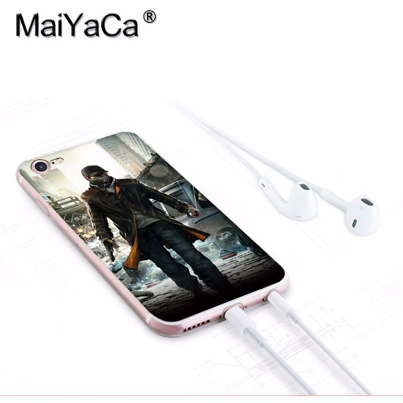 US $1 21 39% OFF|MaiYaCa Watchdog New Arrival Fashion phone case cover for  Apple iPhone 8 7 6 6S Plus X 5 5S SE XS XR XS MAX Mobile Cover-in