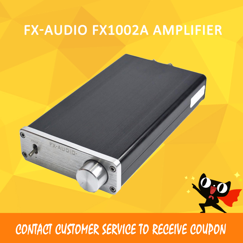 FX Audio 1002A audio amplifier hifi amplifier 2.1 power amplifier amplificador audio