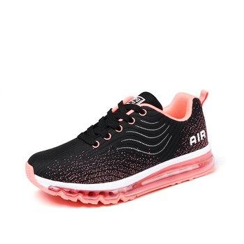 ONKE zapatos de mujer primavera y otoño Flywire Breathable hombres  zapatillas Atlético aire completo cojín pareja zapatillas de entrenamiento e32a992cf3087