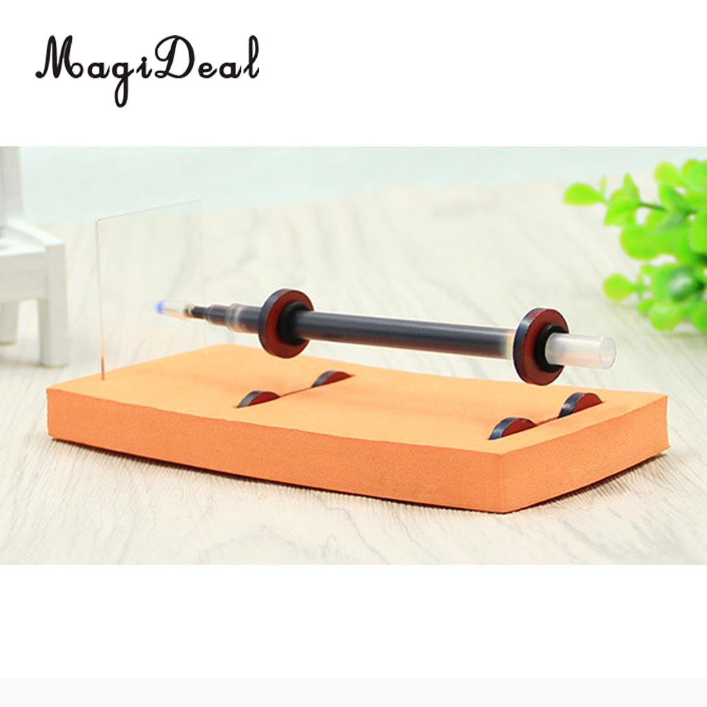 MagiDeal Homemade Maglev Pen DIY Science Toy Technology Gizmo Physics Experiment Tool for Laboratory Teaching Prop Novelty Gift