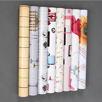PVC Waterproof Adhesive Wall Wallpaper Modern Fashion 3D Wallpapers Of Wall Paper Roll For Walls Papel
