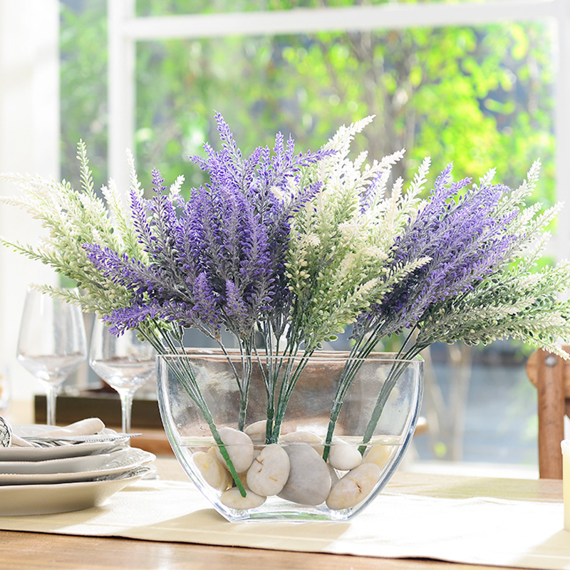 High quality fashion artificial flowers high silk flower transparent high quality fashion artificial flowers high silk flower transparent glass vase semi cirle whole decoration flower set in artificial dried flowers from mightylinksfo