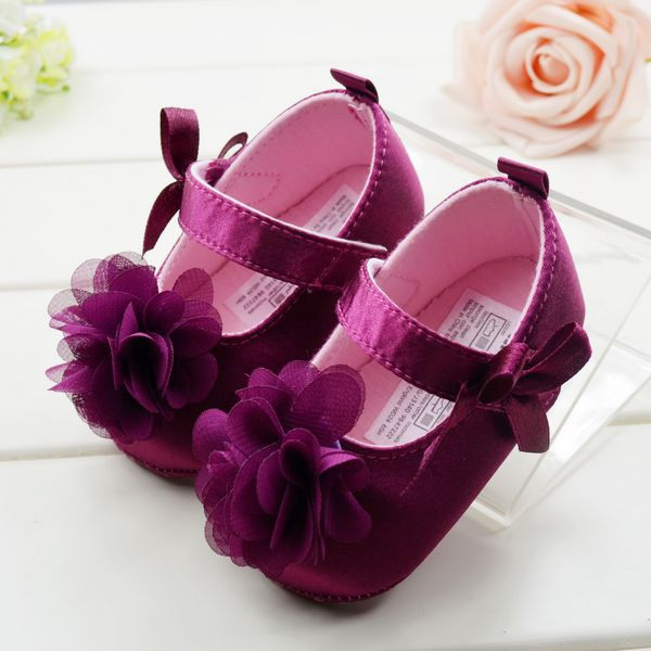 Cute Baby Childrens Girls First Walkers Toddler Princess Soft Shoes Size 1/2/3 to Choose