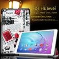 """Imán ultra delgada inteligente pu cubierta de cuero para huawei mediapad t2 pro 10 """"(fdr-a03l) (fdr-a01w) tablet de cuero protector de la piel"""