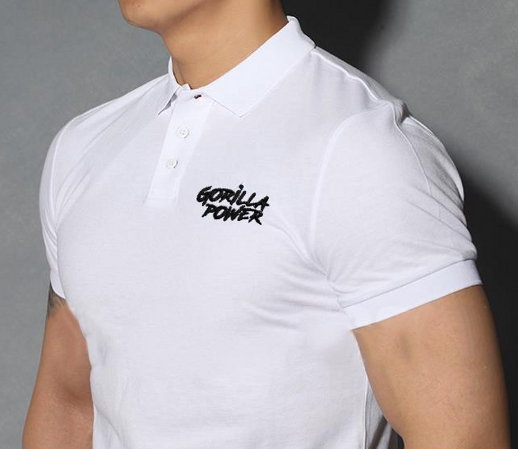 2019 New   Polo   Shirts Gorilla Shirt High Quality Men Cotton Short Sleeve Fitness Homme Tees Jersey Summer Casual   Polo   Shirt