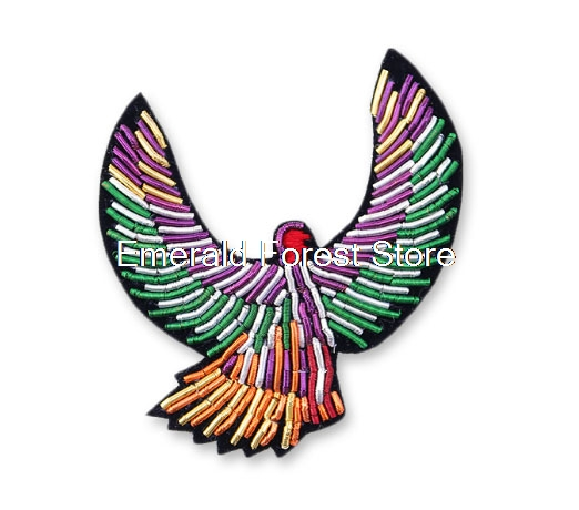 Canos Design Indian Silk Jewelry Hand-embroidered Icarus Creative Brooch Cartoon Brooch Men And Women Accessories Cheap Sales 50% Home & Garden Apparel Sewing & Fabric