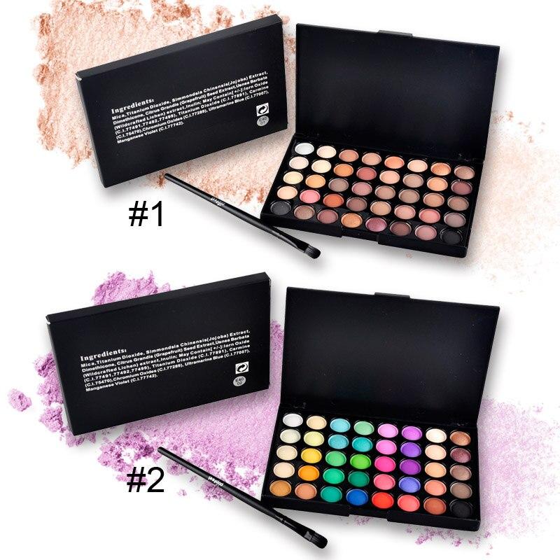 40 צבעים איפור צל איפור שיזוף Glitter Matte - איפור