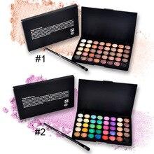 40 Colors Eye Shadow Makeup Shimmer Glitter Matte Eyeshadow Earth Color Eyeshadow Palette Cosmetic Makeup Nude Eye Shadow