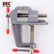 MX-DEMEL 1 шт. мини алюминиевая скамейка стол поворотный замок зажим тиски Ремесло Ювелирные изделия хобби тиски