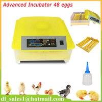Automatic Turning Hatching Egg Incubator Mini Industrial Inkubator Brooder Hatchery Machine For 48 Chicken Duck Quail