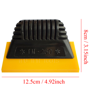Image 3 - TPU TPH Rubber Squeegee Window Tint Tools Spacial Hand Scraper For Invisible Car Clothing Film Auto Transparent Film Install B01