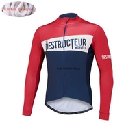 Morvelo Winter Thermal Fleece Cycling Jersey Long Sleeve Ropa Ciclismo Hombre Bicycle Wear Bike Clothing Maillot